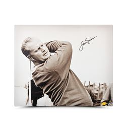 "Jack Nicklaus Signed ""Up Close  Personal"" LE 20x24 Canvas (UDA COA)"