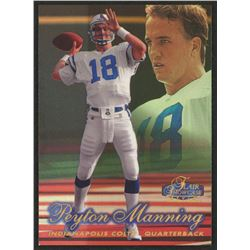 1998 Flair Showcase Legacy Collection Masterpieces Row 2 #3 Peyton Manning
