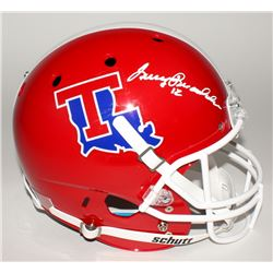 Terry Bradshaw Signed Louisiana Tech Bulldogs Full-Size Helmet (Bradshaw Hologram)