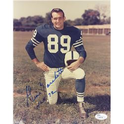 "Gino Marchetti Signed Colts 8x10 Photo Inscribed ""HOF 72"" (JSA COA)"