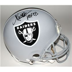 "Marcus Allen Signed Raiders Full-Size Authentic Helmet Inscribed ""HOF 03"" (JSA COA)"
