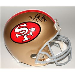 "Ronnie Lott Signed 49ers Full-Size Helmet Inscribed ""HOF 00"" (Beckett COA)"