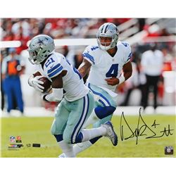 Dak Prescott Signed LE Cowboys 16x20 Photo (Panini COA)