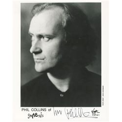 Phil Collins Signed 8x10 Photo (JSA COA)