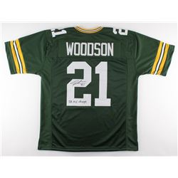 "Charles Woodson Signed Packers Jersey Inscribed ""SB XLV Champs"" (JSA COA)"