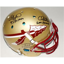 Jameis Winston, Charlie Ward  Chris Weinke Signed Florida State Seminoles Full-Size Authentic Hellme