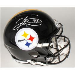 Hines Ward Signed Steelers Full-Size Speed Helmet (JSA COA)