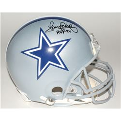 "Tony Dorsett Signed Cowboys Full-Size Helmet Inscribed ""HOF 94"" (JSA COA)"