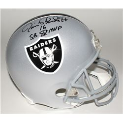 "Jim Plunkett Signed Raiders Full-Size Helmet Inscribed ""S.B. XV MVP"" (Beckett COA)"