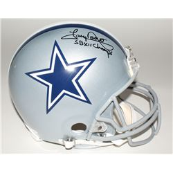 "Tony Dorsett Signed Cowboys Full-Size Helmet Inscribed ""SB XII Champs"" (JSA COA)"