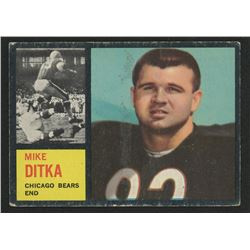 1962 Topps #17 Mike Ditka RC