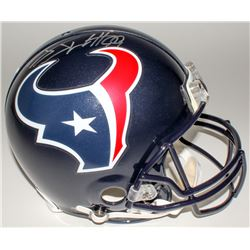 J. J. Watt Signed Texans Full-Size Authentic Helmet (JSA COA)