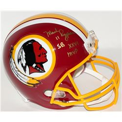 "Mark Rypien Signed Redskins Full-Size Helmet Inscribed ""SB XXVI MVP"" (JSA COA)"