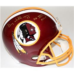 "Doug Williams Signed Redskins Full-Size Helmet Inscribed ""SB XXII MVP"" (Radtke COA)"