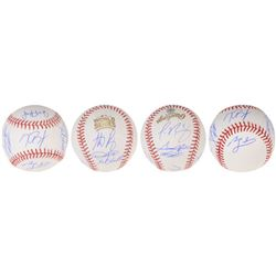 2016 Cubs World Series Champions Baseball Team-Signed by (9) with Kris Bryant, Anthony Rizzo, Jake A