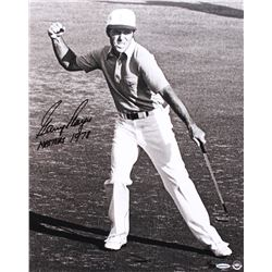 "Gary Player Signed LE ""Victory Celebration"" 16x20 Photo Inscribed ""MASTERS 1978"" (UDA COA)"