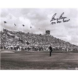 "Gary Player Signed LE ""Putting For The Win"" 16x20 Photo Inscribed ""1974 Open Champ"" (UDA COA)"