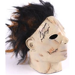 "Tyler Mane Signed Full-Size Michael Myers Mask Inscribed ""Michael Myers"" (PA COA)"