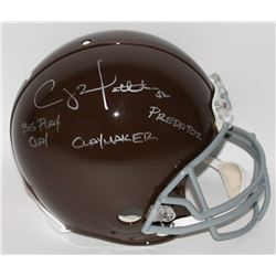 "Clay Matthews Signed Packers Full-Size Authentic Proline Throwback Helmet Inscribed ""Big Clay"", ""Cla"