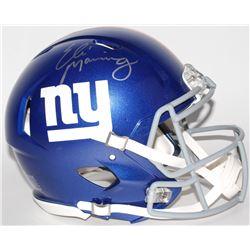 Eli Manning Signed Giants Full-Size Authentic Speed Helmet (Steiner COA)