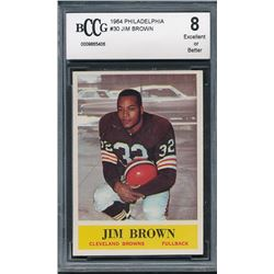 1964 Philadelphia #30 Jim Brown (BCCG 8)