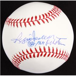 "Reggie Jackson Signed OML Baseball Inscribed ""Mr. October"" (JSA COA)"