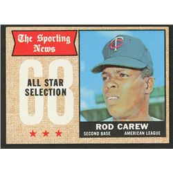 1968 Topps #363 Rod Carew AS