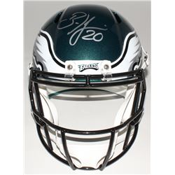 Brian Dawkins Signed Eagles Full-Size Speed Helmet (JSA COA)