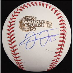 Frank Thomas Signed 2005 World Series Baseball (Schwartz COA)