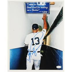 Alex Rodriguez Signed Yankees 11x14 Photo (JSA COA)