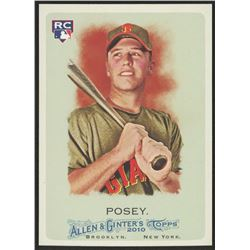 2010 Topps Allen and Ginter #294 Buster Posey RC