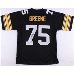 "Joe Greene Signed Steelers Jersery Inscribed ""HOF 87"" (Beckett COA)"