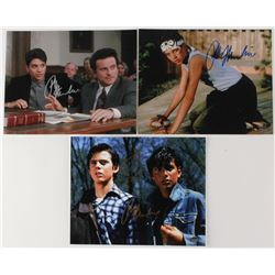 "Lot of (3) Signed 8x10 Movie Photos with (3) Ralph Macchio  (1) C. Thomas Howell Inscribed ""Ponyboy"""