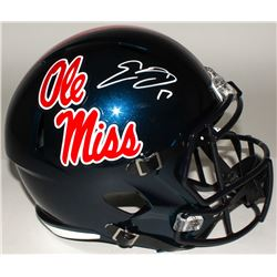 Evan Engram Signed Ole Miss Rebels Full-Size Speed Helmet (JSA COA)