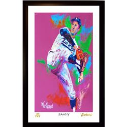 "Sandy Koufax Dodgers 11x17 ""Sandy"" Signed Winford Limited Edition Lithograph #/199 (Winford COA)"