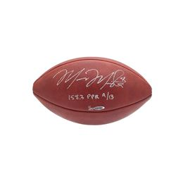 "Marcus Mariota Signed LE NFL Game Ball Football Inscribed ""158.3 PPR 9/13"" (UDA COA)"