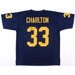 Taco Charlton Signed Michigan Wolverines Jersey (JSA Hologram)