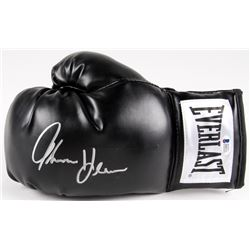 Thomas Hearns Signed Everlast Boxing Glove (Beckett COA)