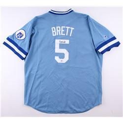 George Brett Signed Royals Jersey (Beckett COA)