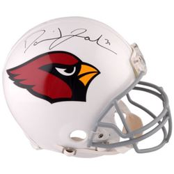 David Johnson Signed Cardinals Full-Size Authentic On Field Helmet (Fanatics Hologram)