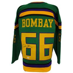 "Emilio Estevez Signed The Mighty Ducks ""Bombay"" Jersey (PSA COA)"