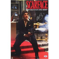 "Al Pacino Signed ""Scarface"" 11x17 Photo (PSA COA)"