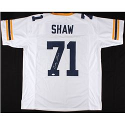 Billy Shaw Signed Georgia Tech Yellow Jackets Jersey (JSA COA)