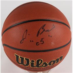 "Jim Boeheim Signed Basketball Inscribed ""05"" (JSA COA)"