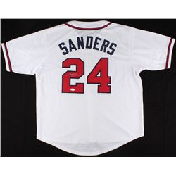 Deion Sanders Signed Braves Jersey (JSA Hologram)