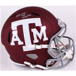 Myles Garrett Signed Texas AM Aggies Full-Sized Speed Helmet (TriStar)