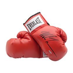 Mike Tyson Signed Pair of Everlast Boxing Gloves (UDA)