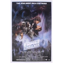 "Jeremy Bulloch Signed ""The Empire Strikes Back"" 24x36 Poster Inscribed ""Boba Fett"" (Radtke COA)"