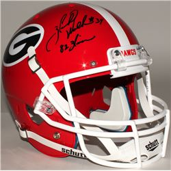 "Herschel Walker Signed Georgia Bulldogs Full Size Helmet Inscribed ""Heisman 82"" (JSA COA)"