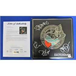 "Avett Brothers ""Emotionalism"" Vinyl Record Album Signed by (4) with Seth Avett, Scott Avett, Bob Cra"